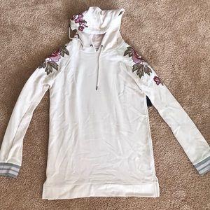 Long sleeve hoodie top/dress